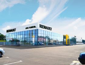 Новый автосалон Renault в Гомеле