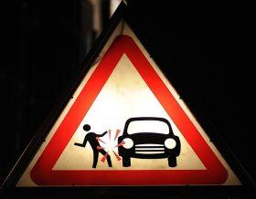 В Гомеле водитель совершил наезд на пешехода и скрылся