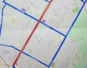 Улица Интернациональная в Гомеле: варианты объезда