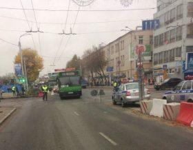 В Гомеле на подъездах к ЗИПу случился транспортный коллапс