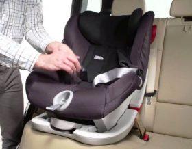 Безопасная перевозка детей